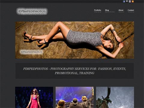 It's a boy – The brand spanking new Pimpedphotos website