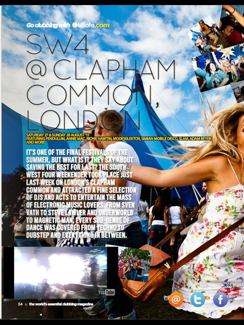 Tilllate Mag Issue 284: SW4 @ Clapham Common